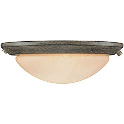 Two-light Aged Pecan Profile Light Kit - Brown