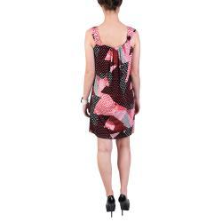 Sangria Women's Sleeveless Stretchy Knit Scoop Neck Dress - Thumbnail 1