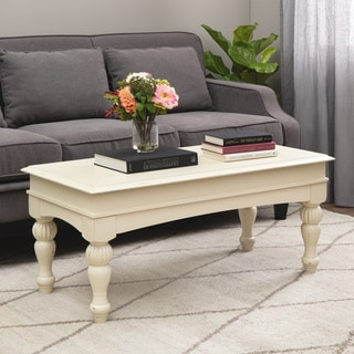 Vanilla Wasatch Coffee Table
