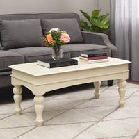 Stones & Stripes Vanilla Wasatch Coffee Table