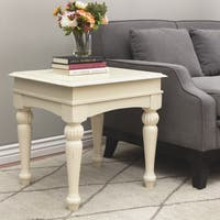 Stones & Stripes Vanilla Wasatch End Table