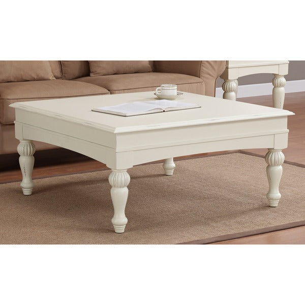 Vanilla Wasatch Square Coffee Table Free Shipping Today 14173738