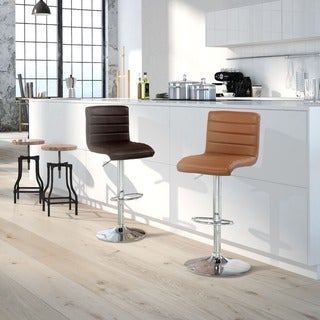 Furniture of America Winzzy Adjustable Height Hydraulic Bar Stool