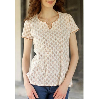 Cotton 'Gujarat Glow' Tunic (India)