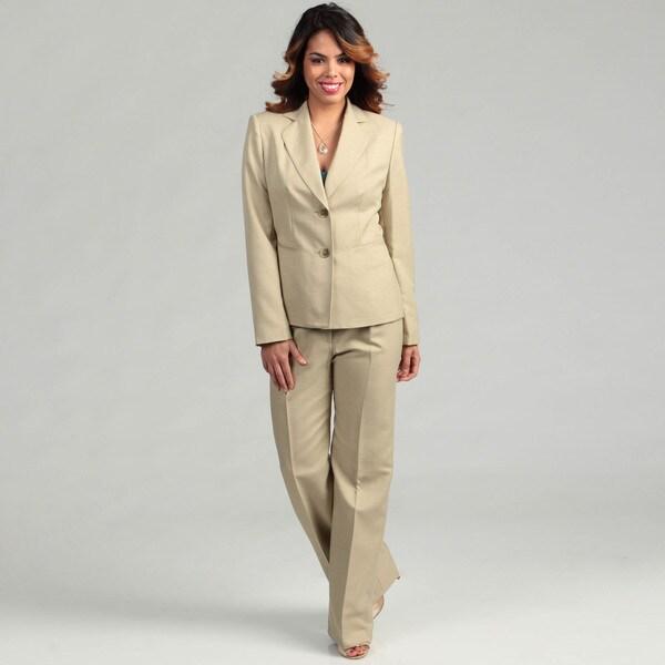 Evan Picone Women's Sage 2-button Pant Suit