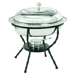 Oval Stainless Steel 6-quart Chafing Dish