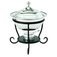 Old Dutch Round Stainless Steel 3 qt. Chafing Dish