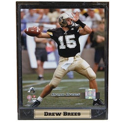 Purdue University Drew Brees Stat Plaque