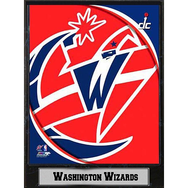 Washington Wizards 2011 Logo Plaque
