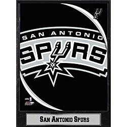 San Antonio Spurs 2011 Logo Plaque