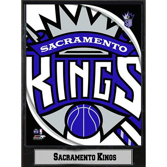 Sacramento Kings 2011 Logo Plaque