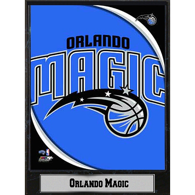 Orlando Magic 2011 Logo Plaque