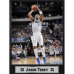 Dallas Mavericks Jumper Jason Terry Stat Plaque