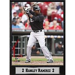 Florida Marlins Hanley Ramirez Stat Plaque