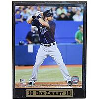 Tampa Bay Rays Ben Zobrist Stat Plaque