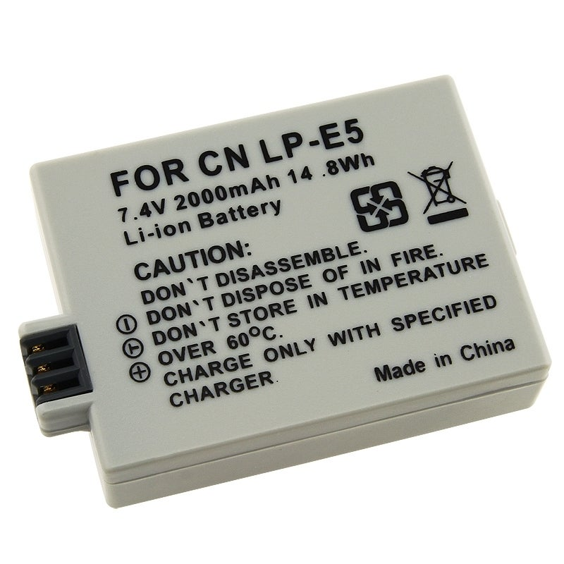 INSTEN Compatible Li-ion Battery for Canon LP-E5