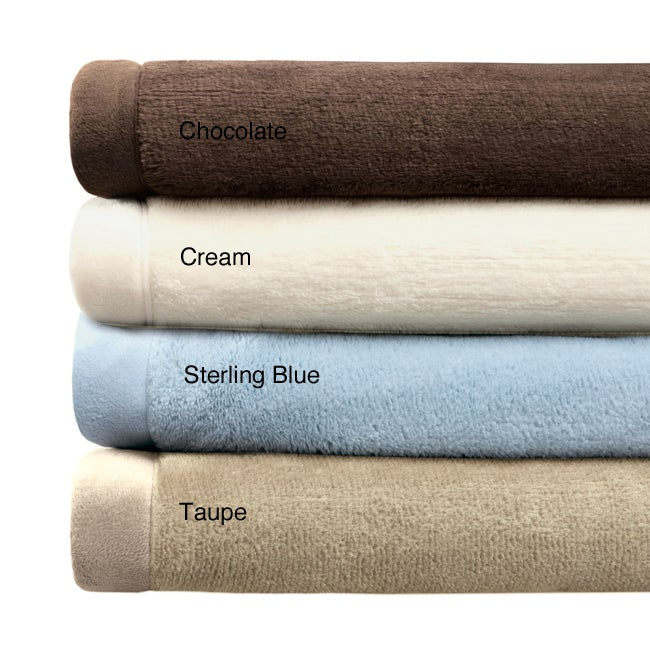 Premier Comfort Luxtouch Full/ Queen-size Microfur Blanket