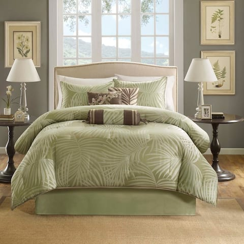 Copper Grove Geneva Sage 7-piece Comforter Set