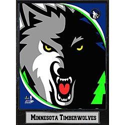 Minnesota Timberwolves 9x12 Logo Plaque - Thumbnail 0