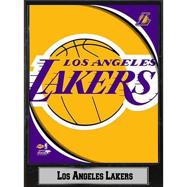 Los Angeles Lakers 2011 Logo Plaque