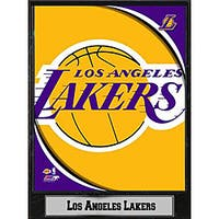 Los Angeles Lakers 2011 Logo Plaque