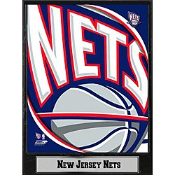 New Jersey Nets 2011 Logo Plaque