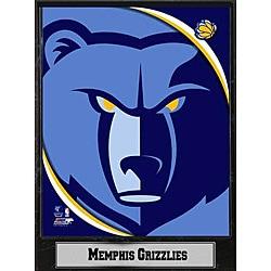 Memphis Grizzlies 2011 Logo Plaque