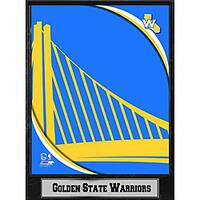 Golden State Warriors 2011 Logo Plaque