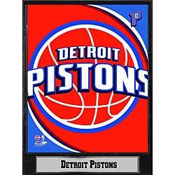 Detroit Pistons 2011 Logo Plaque