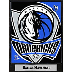 Dallas Mavericks 2011 Logo Plaque