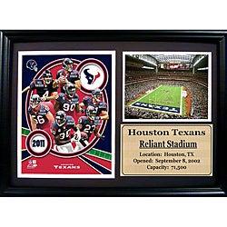 Houston Texans 2011 Photo Stat Frame