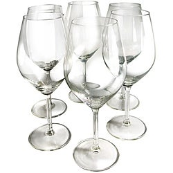 Illuminati 20-oz Crystal Red Wine Glasses (Set of 6)
