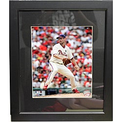 Philadelphia Phillies Cliff Lee Deluxe Frame