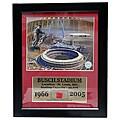 Bush Stadium Game Used Frame