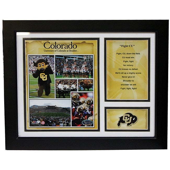 University of Colorado Deluxe Stat Frame