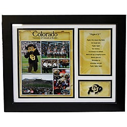 University of Colorado Deluxe Stat Frame