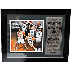 San Antonio Spurs Deluxe Stat Frame
