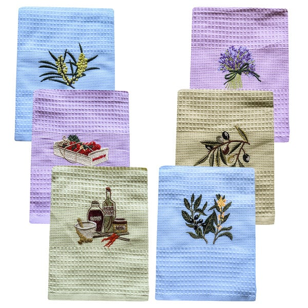 Lucia Minelli Kitchen Towels (Set of 6)