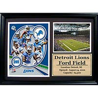 Detroit Lions 2011 Photo Stat Frame