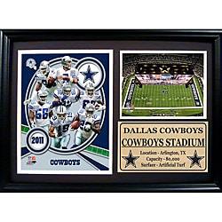 Dallas Cowboys 2011 Photo Stat Frame