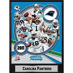 Carolina Panthers 2011 Plaque