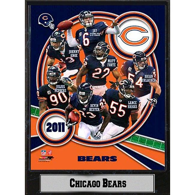 Chicago Bears 2011 Plaque