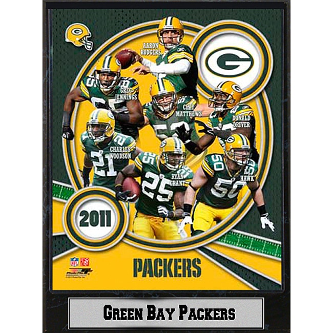 Green Bay Packers 2011 Plaque