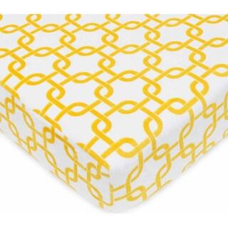 ABC Heavenly Soft Chenille Crib Sheet