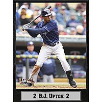 Tampa Bay Rays B.J. Upton Stat Plaque