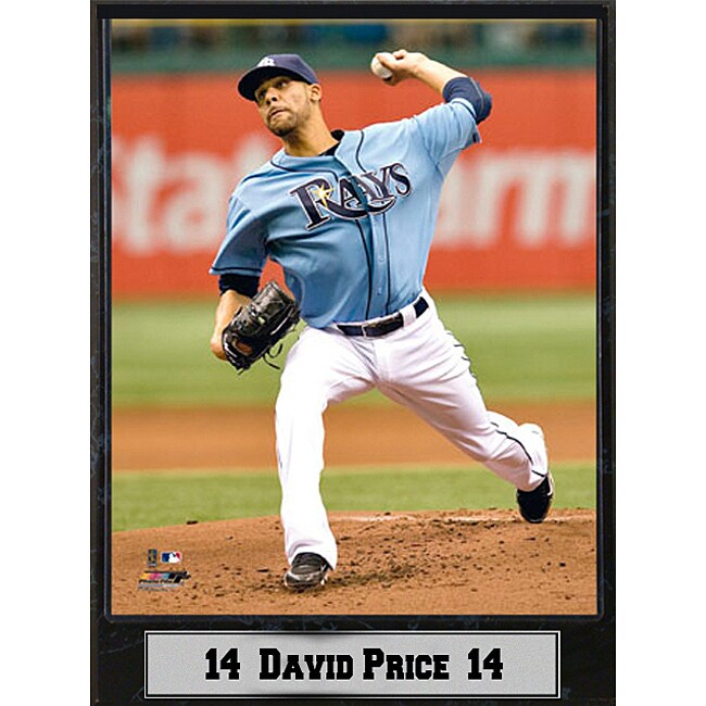 Tampa Bay Rays David Price Stat Plaque