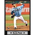 Tampa Bay Rays David Price Stat Plaque
