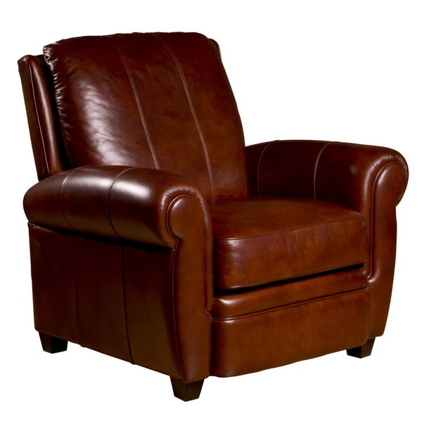 Max Leather Press Back Chair in Cognac