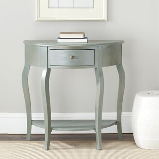 Safavieh Sete 1-drawer Antiqued Grey Console Table