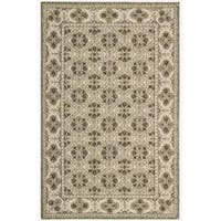 Nourison Hand-hooked Brown Country Heritage Rug - 3'6 x 5'6